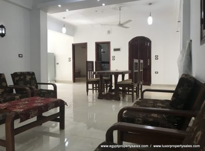 WB1955S Exceptional spacious 2nd floor apartment Tod West bank Luxor